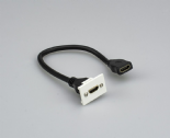 PW/HDMI - HDMI Coupler Module (White)